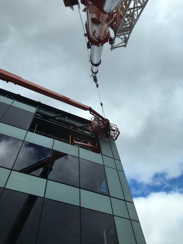 Commercial projects steel erection 2