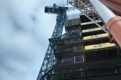 Commercial projects steel erection